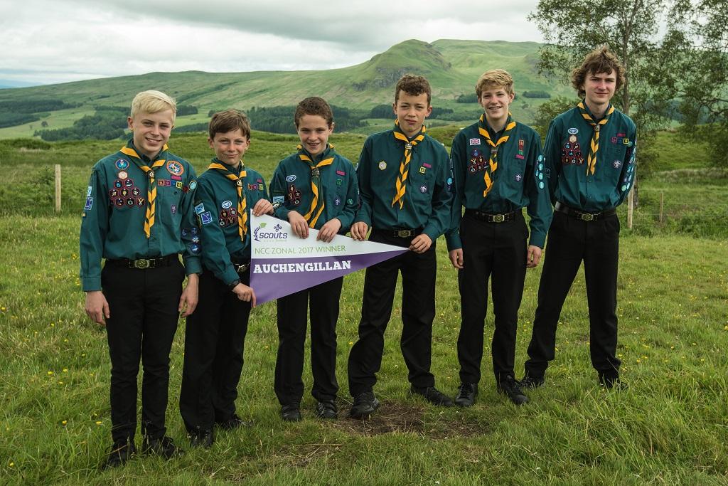 2017 06 18 Zonal Scout Winners